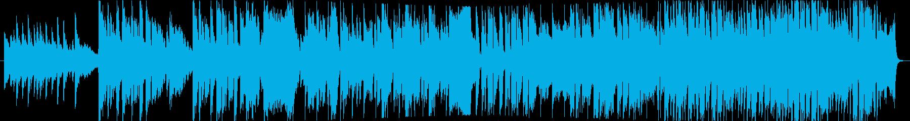 童謡「春が来た」混声4部ゴスペルアレンジの再生済みの波形