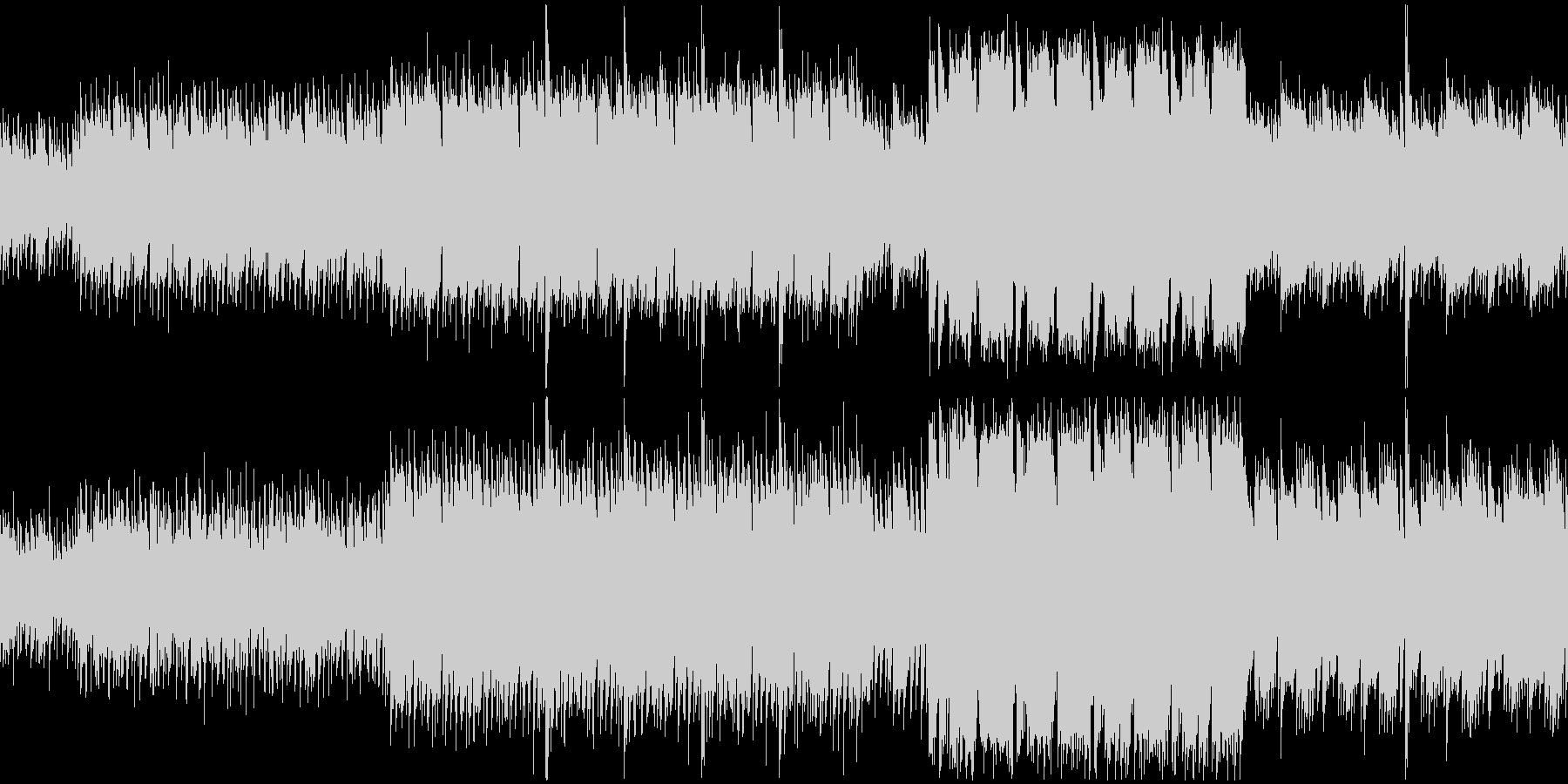 【ループ】超有名ホラーテーマ曲のパロディの未再生の波形