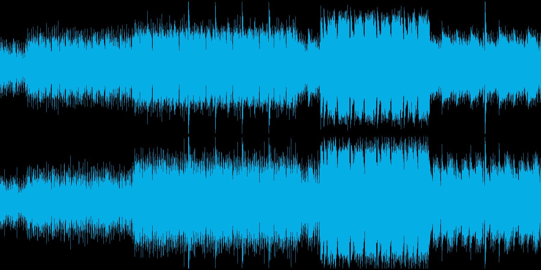 【ループ】超有名ホラーテーマ曲のパロディの再生済みの波形