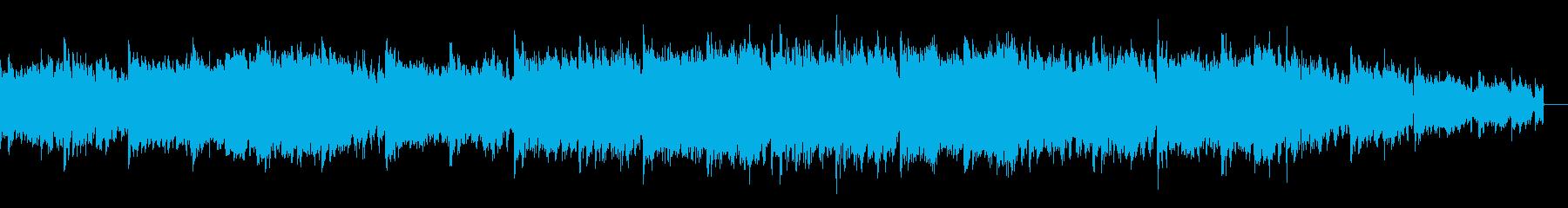 デジノイズによるグリッジエレクトロニカの再生済みの波形