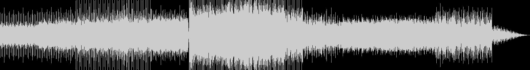 幻想的なチルアウトBGMの未再生の波形