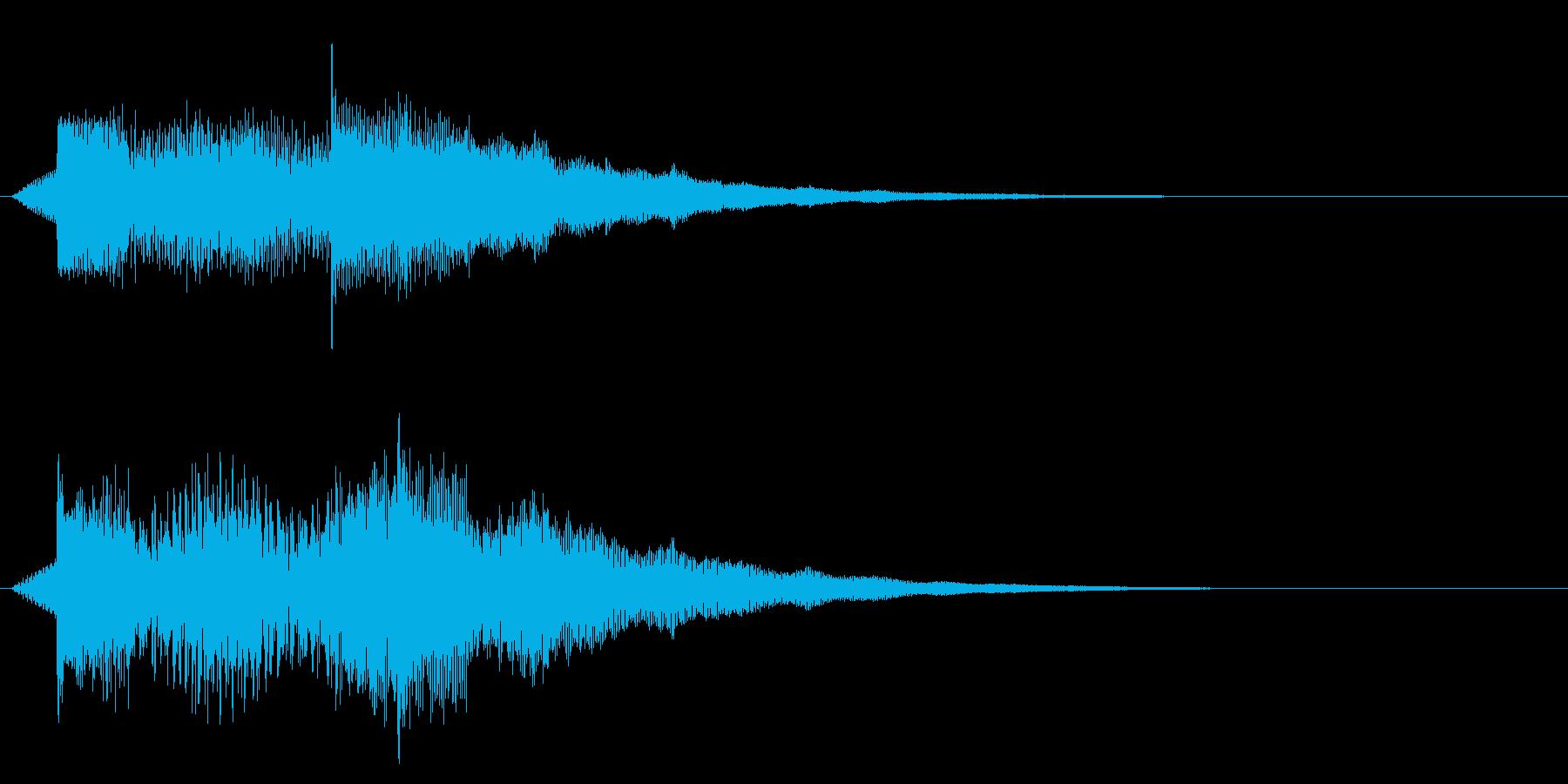 ズンチャンチャンシャララ(テクノロジー)の再生済みの波形
