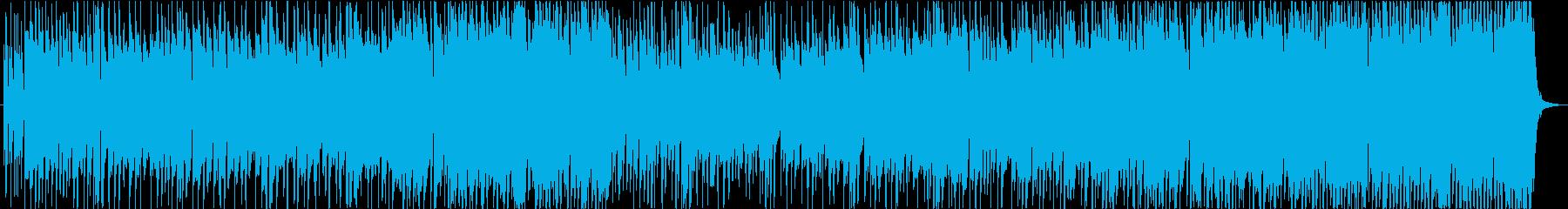 郷愁にかられるトランペット曲の再生済みの波形