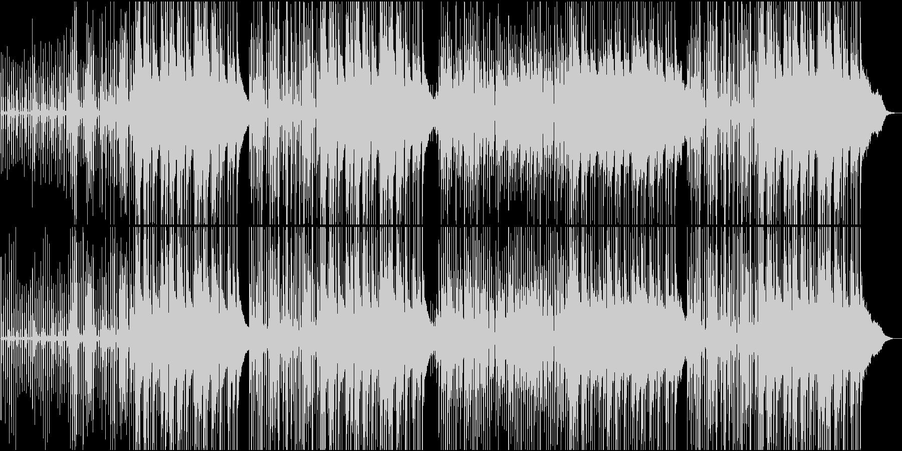 カッティングが気持ちいいカントリーの未再生の波形