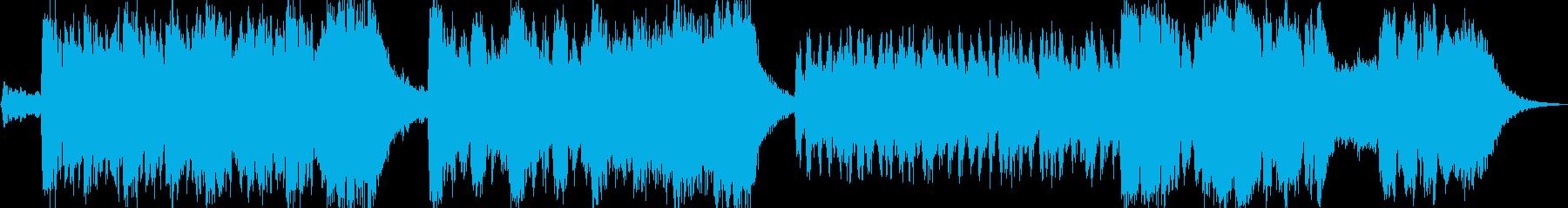 スリルを感じる戦闘系BGMの再生済みの波形