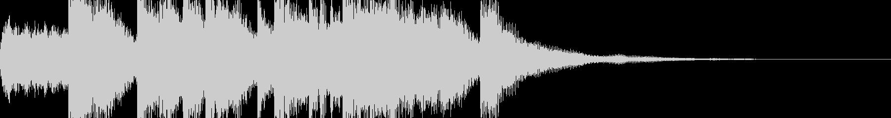 報酬系ファンファーレ(シンセブラス他) の未再生の波形