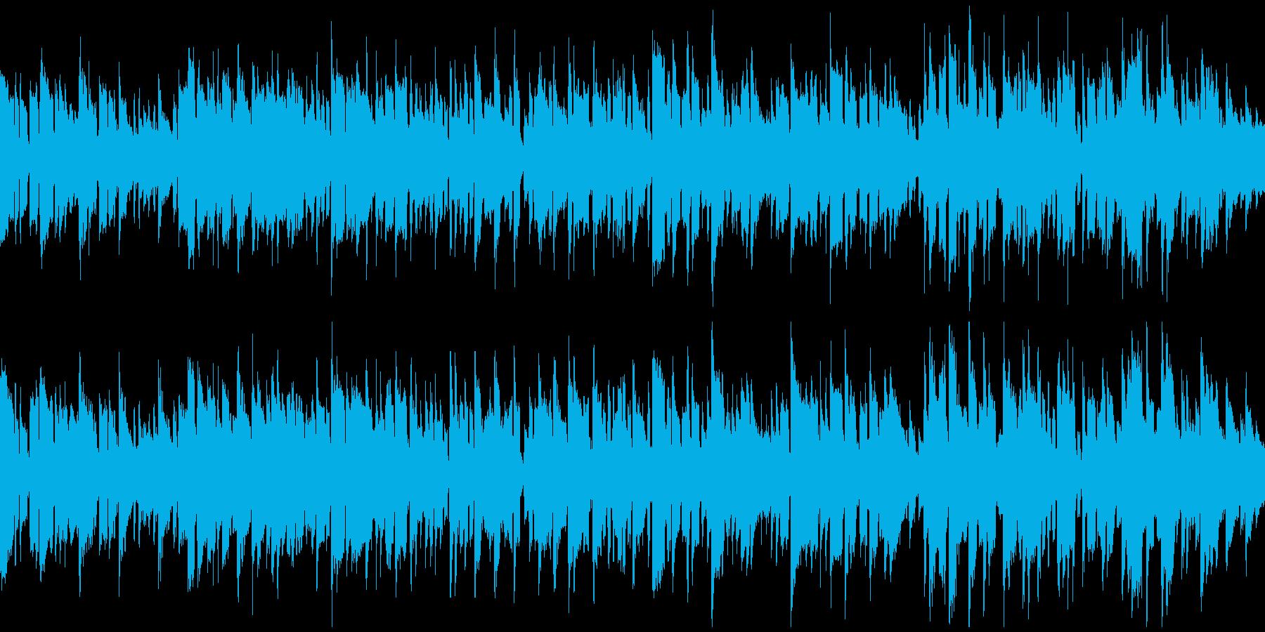 切ないリコーダーのボサノバ ※ループ版の再生済みの波形