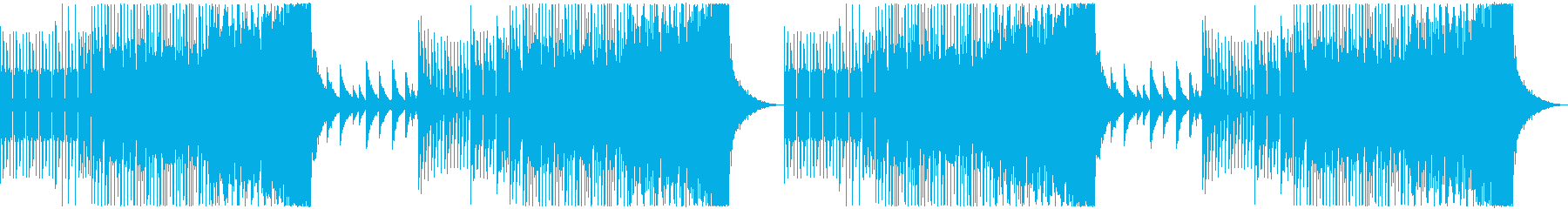 クール・おしゃれなEDM・11の再生済みの波形
