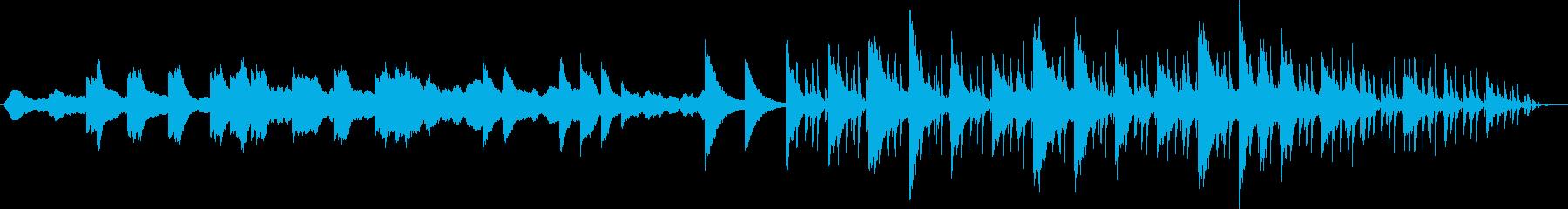 催眠、流れるようなニューエイジ楽器...の再生済みの波形