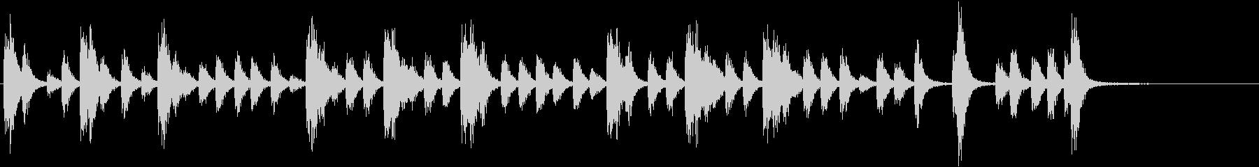 スネアドラム:ミリタリーアクセント...の未再生の波形