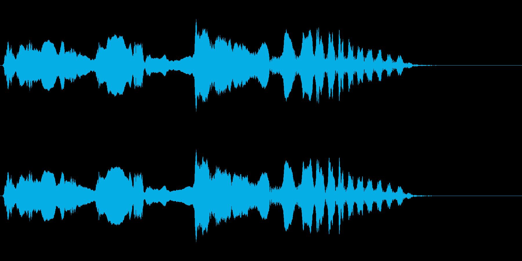 尺八 生演奏 古典風 残響音有 10の再生済みの波形