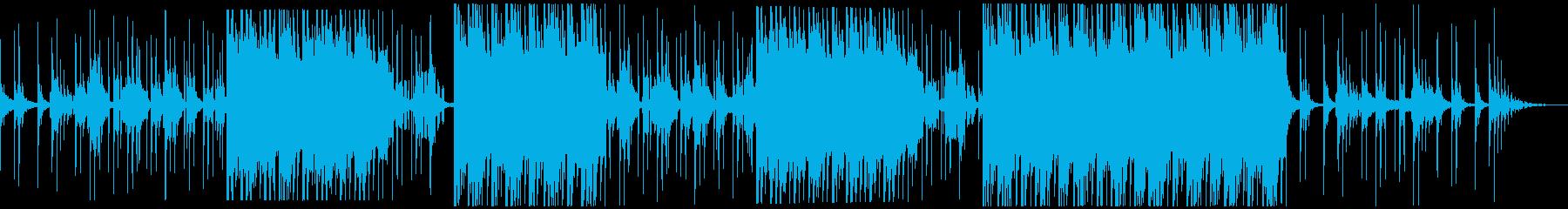 【生アコギ】セツナ美しいトロピカルハウスの再生済みの波形