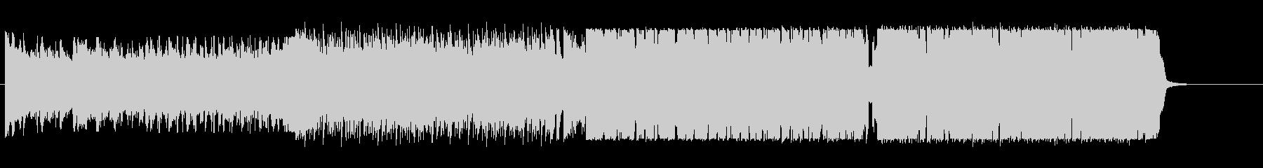 ラテンチックな四つ打ちの未再生の波形