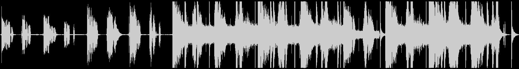 Voice(s)の未再生の波形