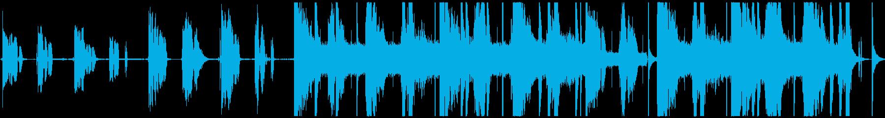 Voice(s)の再生済みの波形