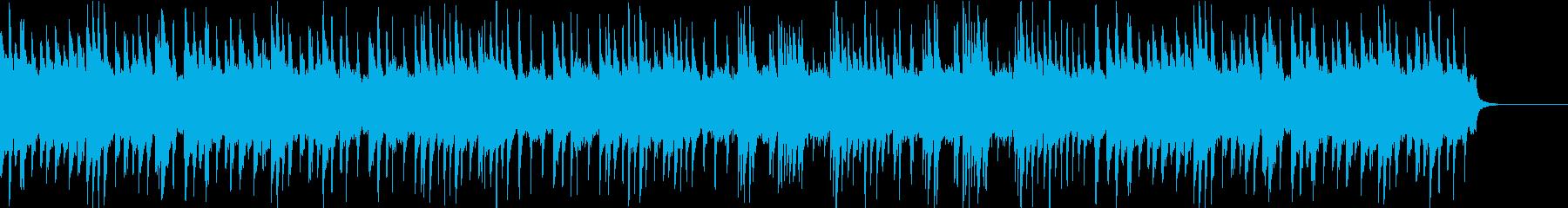 決意のポストリュードの再生済みの波形