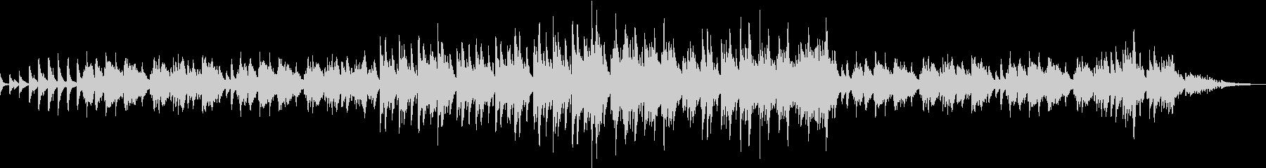 ピアノソロのポップなバラードの未再生の波形