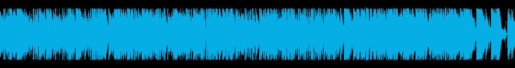 元気ハツラツブラス+ロック歌なしループ1の再生済みの波形