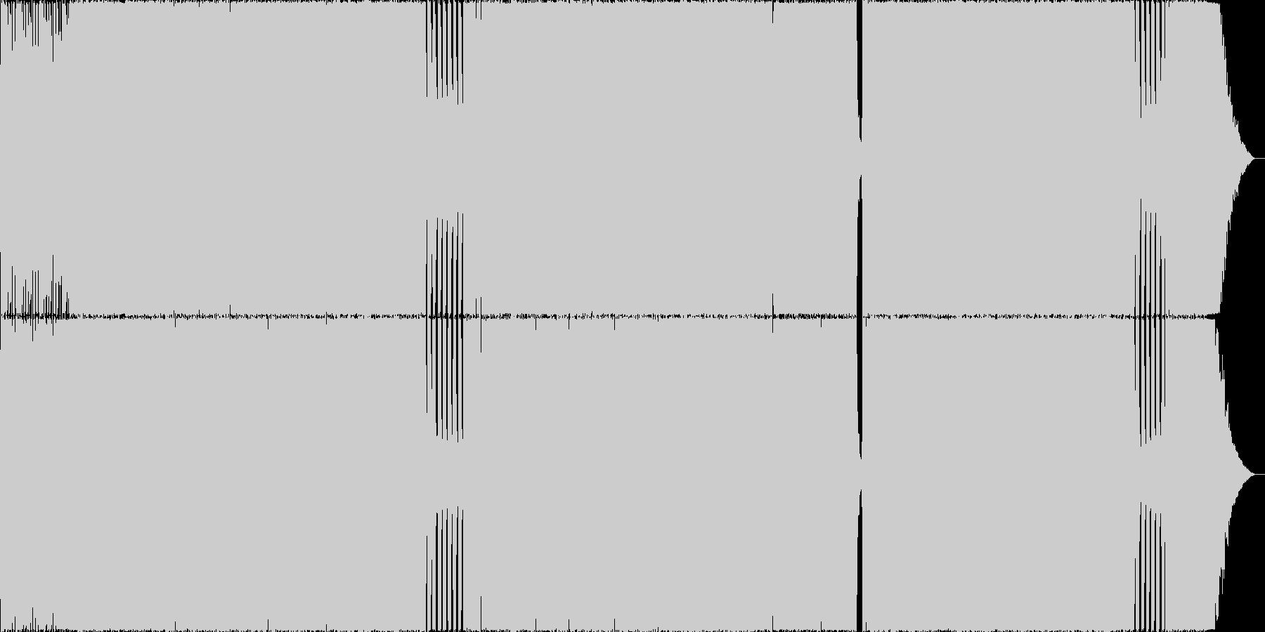 哀愁Rock02 生演奏 Remixの未再生の波形