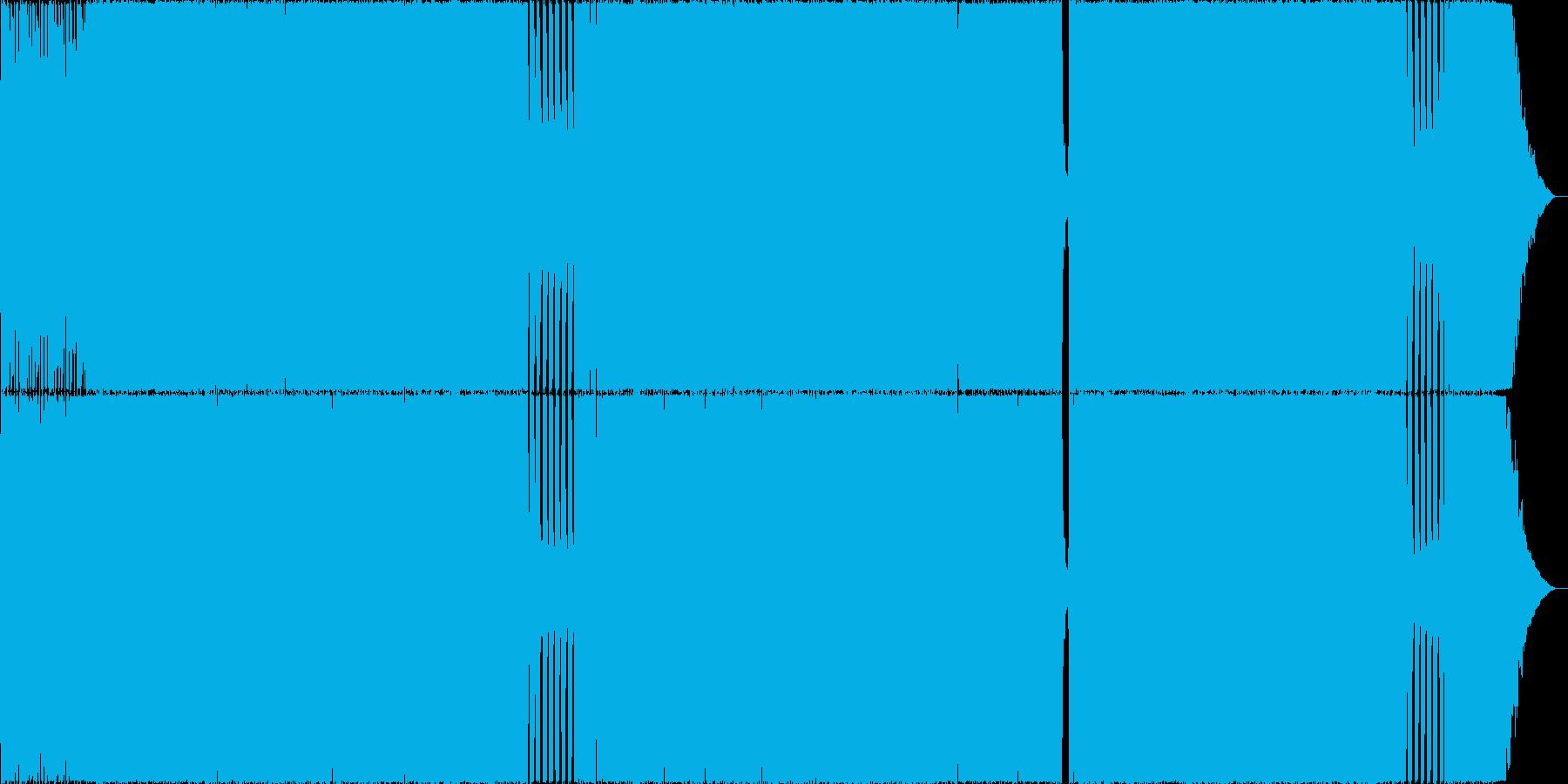 哀愁Rock02 生演奏 Remixの再生済みの波形
