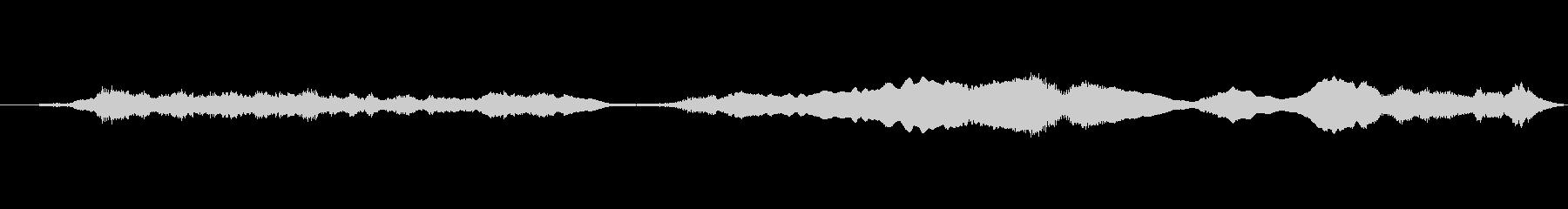メタル 鳴き声03の未再生の波形