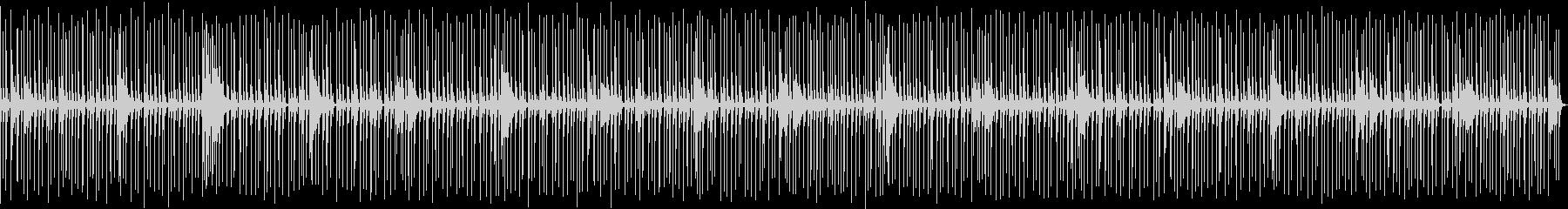 喋り動画用_軽快なドラムソロBGMの未再生の波形