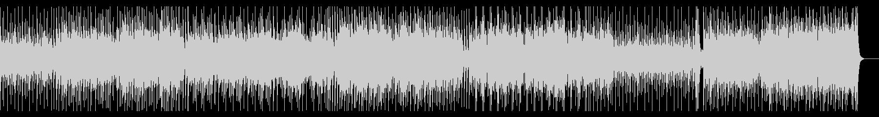 世界遺産ドキュメンタリーケルト調の曲の未再生の波形
