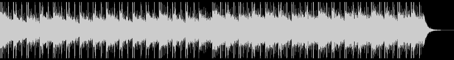 バックグラウンドテクノロジー(中)の未再生の波形