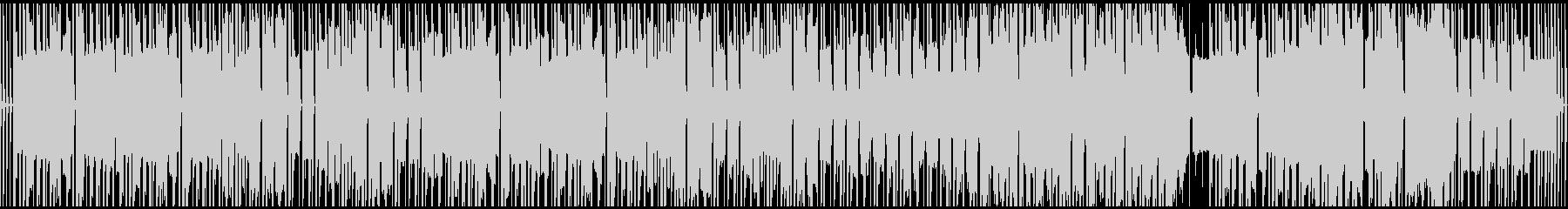 ループ仕様、気だるい、ほのぼのBGMの未再生の波形