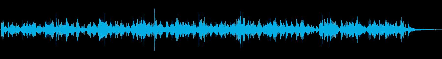 生ピアノソロ・海の底を漂うの再生済みの波形