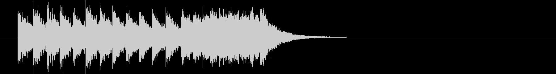場面転換、ぐるぐるぐるの未再生の波形