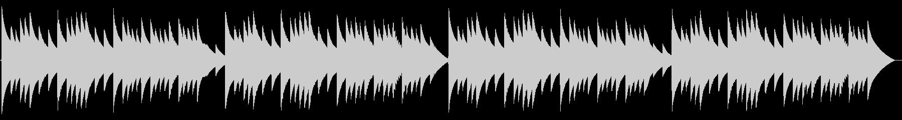 電話 保留音01-2(メヌエット)の未再生の波形