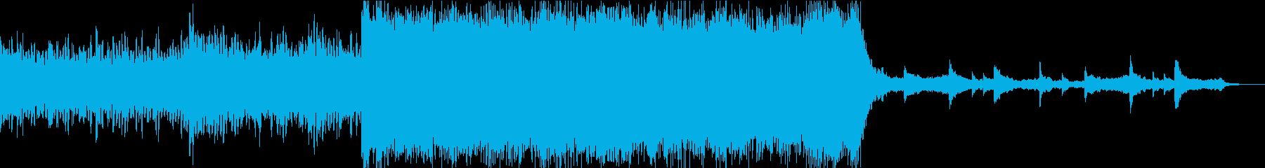 ヒロイックなエピックオーケストラの再生済みの波形