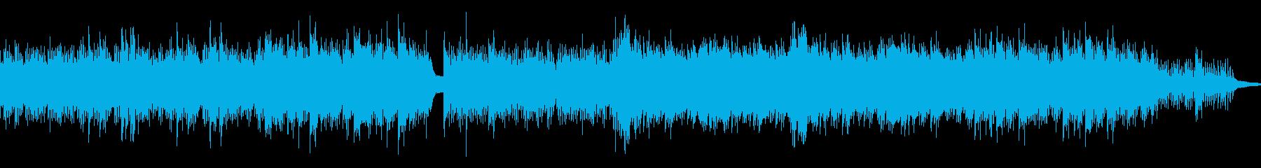 ループ CMや映像作品に 静寂を感じるの再生済みの波形