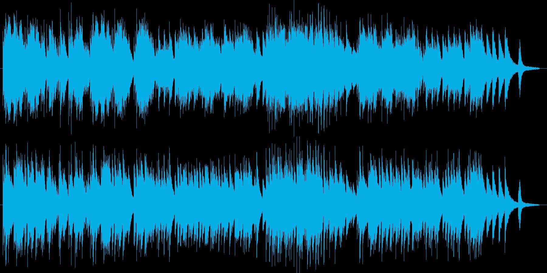 温かなピアノ曲「エフ」のバージョン2で…の再生済みの波形