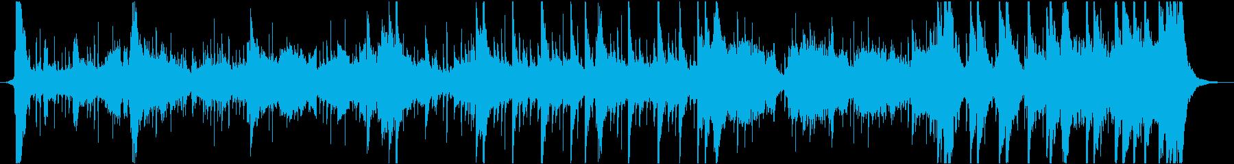 合戦前のような和風BGMの再生済みの波形