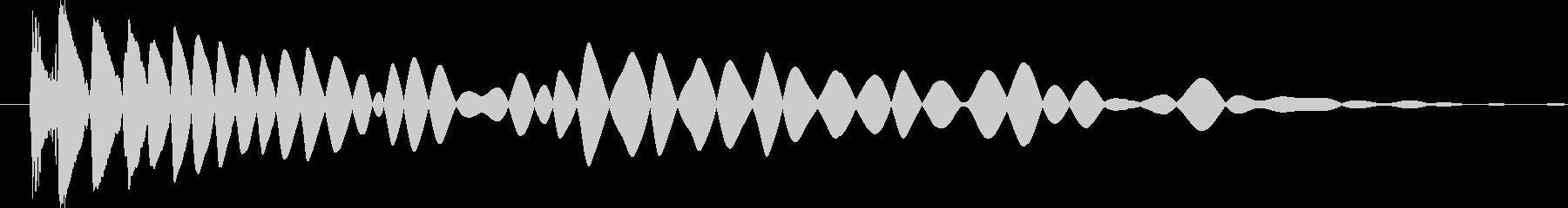 中空プラスチックの衝撃プラスチック...の未再生の波形