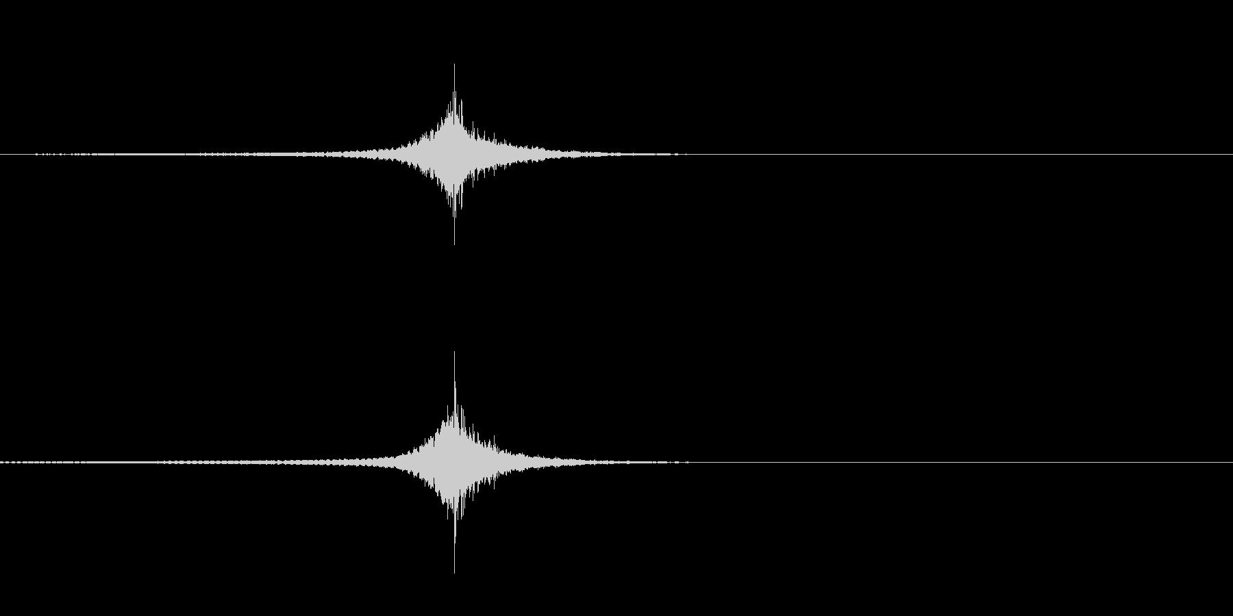リバース音/修得/金属音/サスペンスの未再生の波形