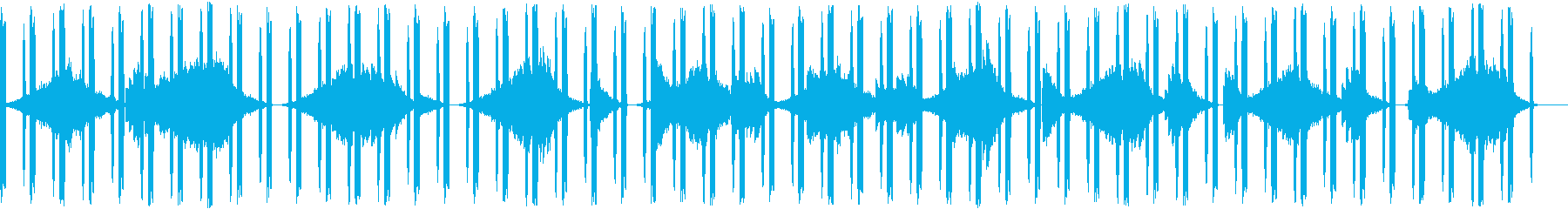 ホラー こわいの再生済みの波形