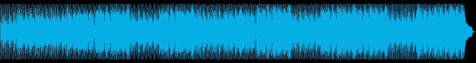 エレクトリックピアノとシンセサイザ...の再生済みの波形