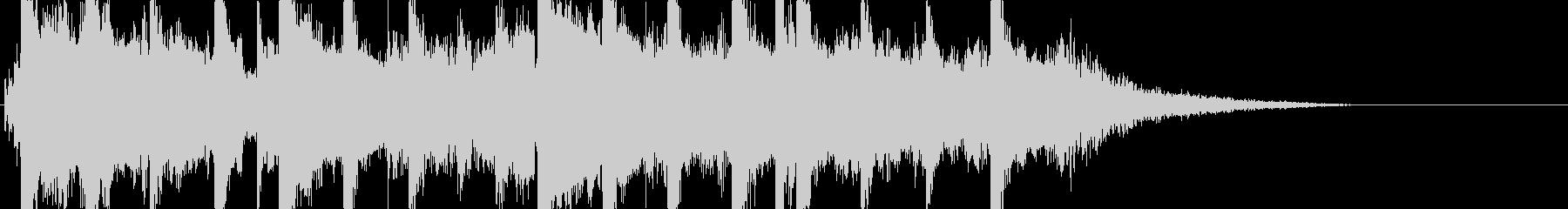バグパイプのジングルの未再生の波形