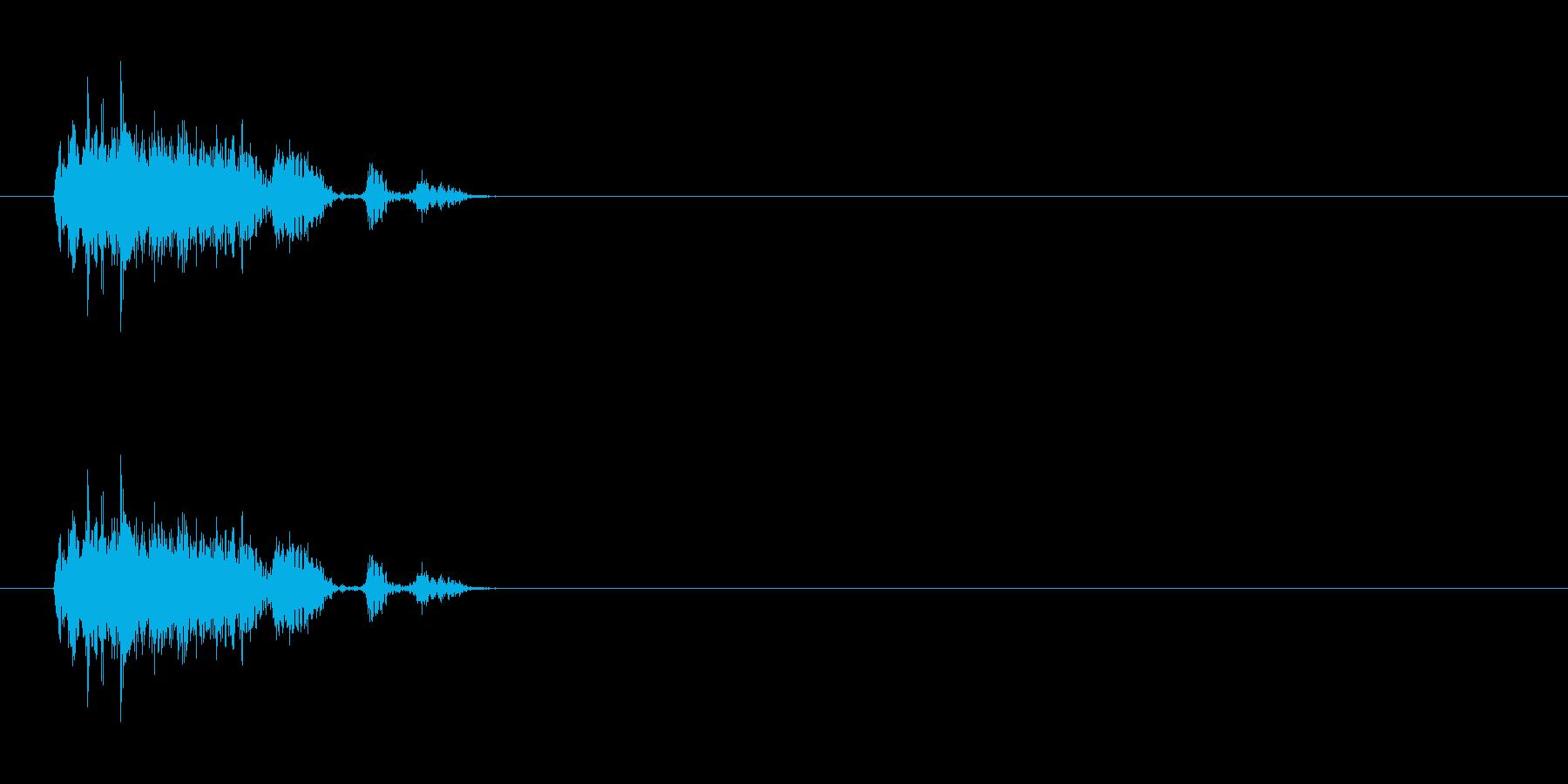 【ブーブークッション01-2】の再生済みの波形