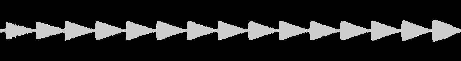 トラックchev警告音まで、の未再生の波形