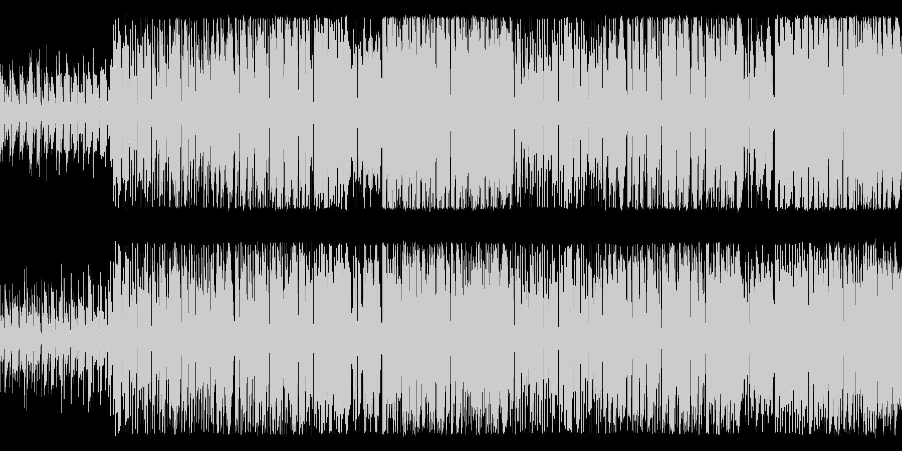 失敗ばかりのコミカルピエロ ループ仕様の未再生の波形