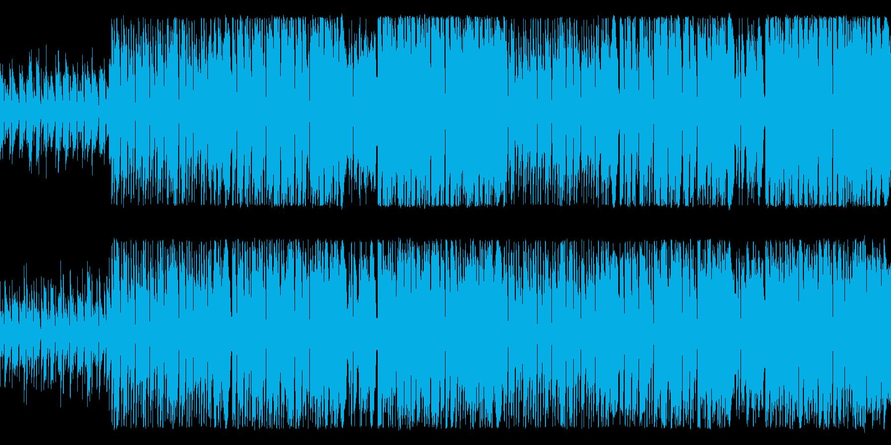 失敗ばかりのコミカルピエロ ループ仕様の再生済みの波形