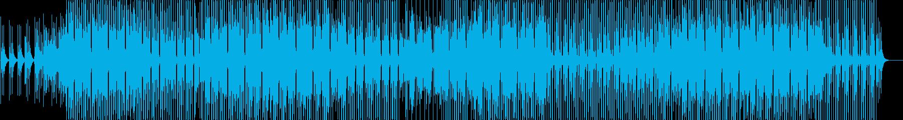 落ち着いたトロピカルハウスの再生済みの波形