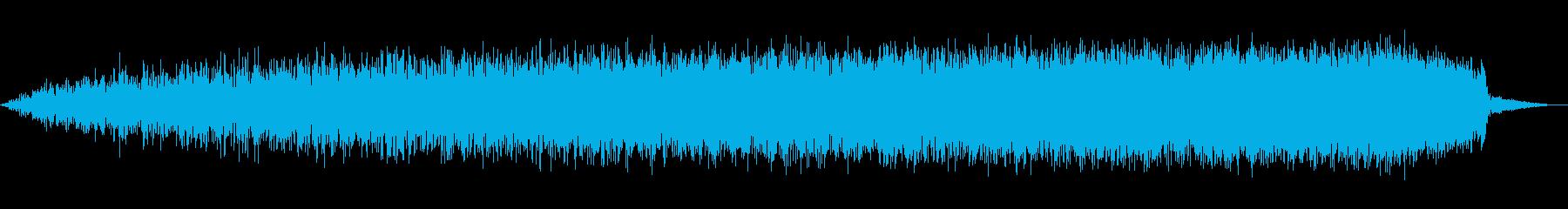 シューッという音EC07_78_2 2の再生済みの波形
