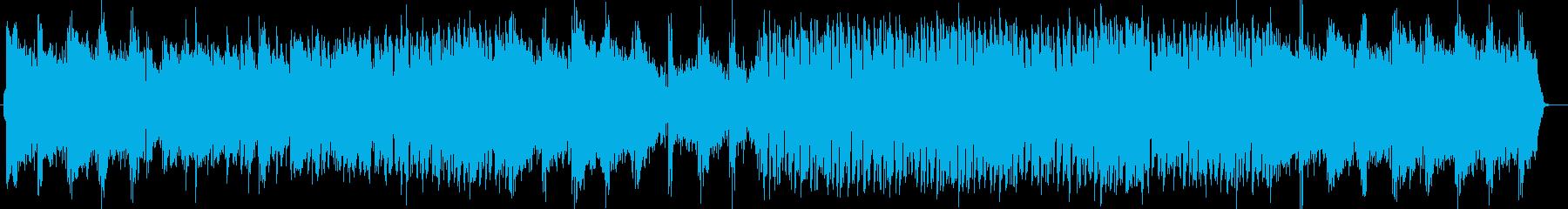 きれいで優しいミュージックの再生済みの波形