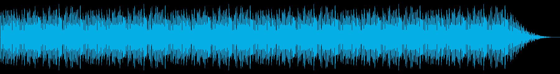 GB系風和風ゲームのタイトル曲の再生済みの波形