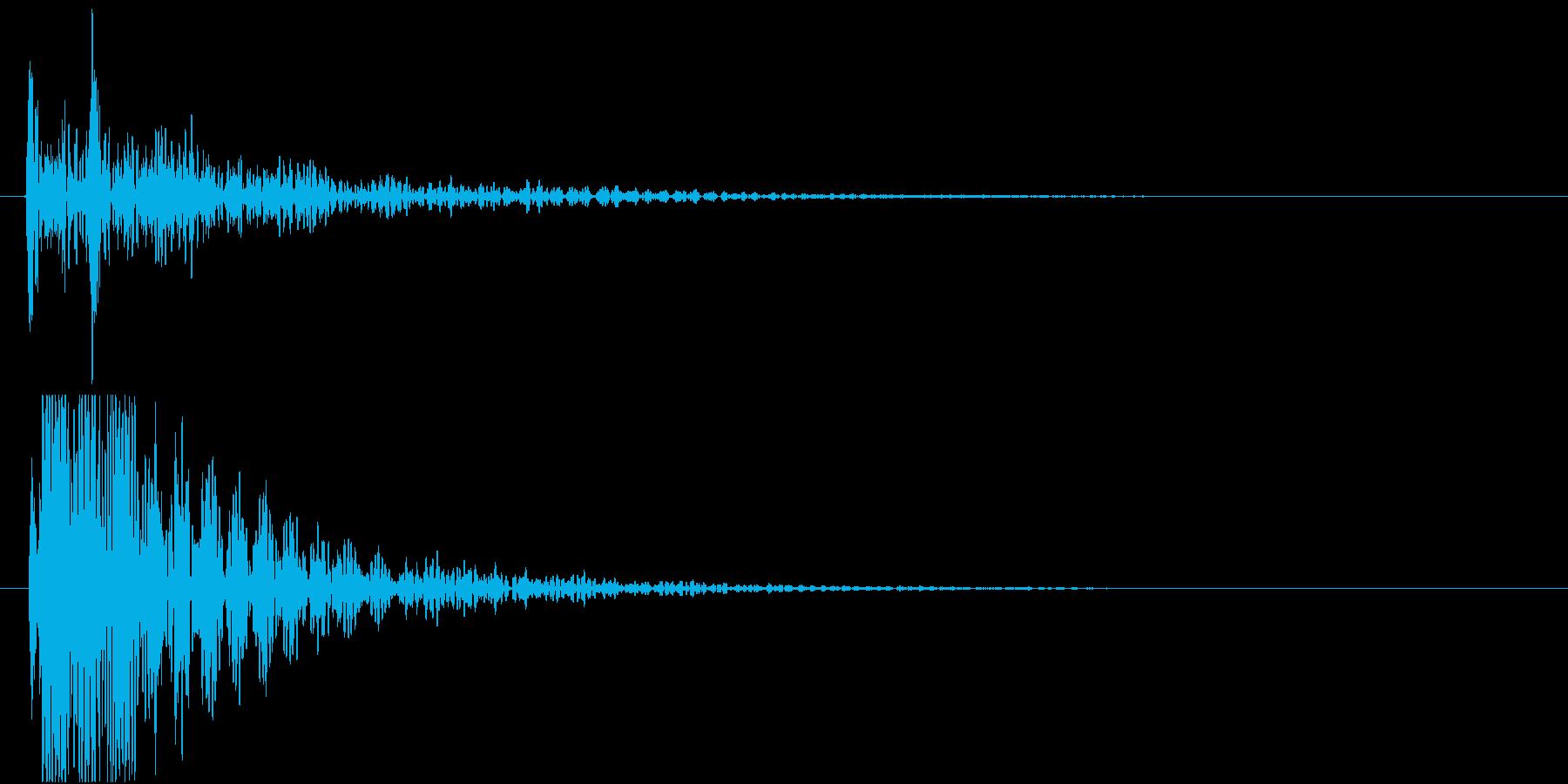 和太鼓でドドンっ!の再生済みの波形